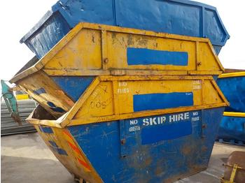 12 Yard Skip to suit Skip Loader Lorry (3 of) - contenedor de cadenas