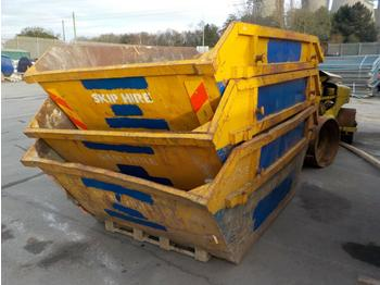 6 Yard Skip to suit Skip Loader Lorry (2 of) - contenedor de cadenas