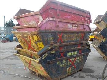 6 Yard Skips to suit Skip Lorry (5 of) - contenedor de cadenas