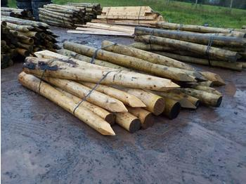 Bundle of Timber Strainers (2 of) - maquinaria forestal